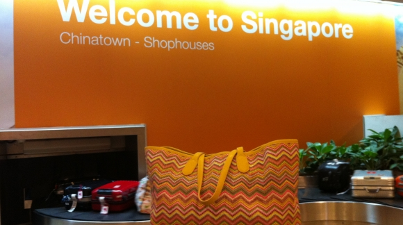 Tote in the city - Singapore